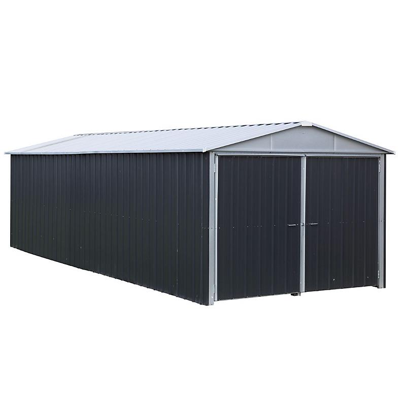 Garage En Métal 03mm 2031 M² Maison Et Loisirs E Leclerc
