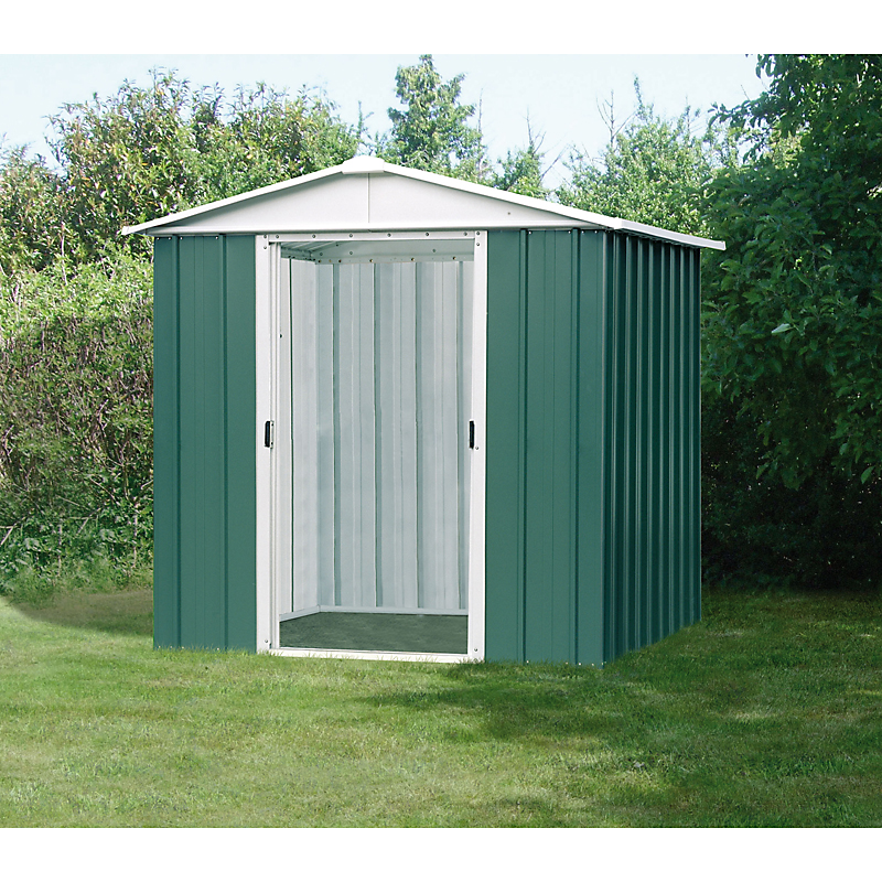 Abri de jardin acier 0,3MM 2,20 m² - YARDMASTER