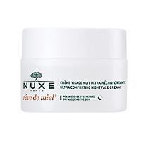 Nuxe Rêve de miel Crème Visage Nuit ultra-réconfortante 50ml