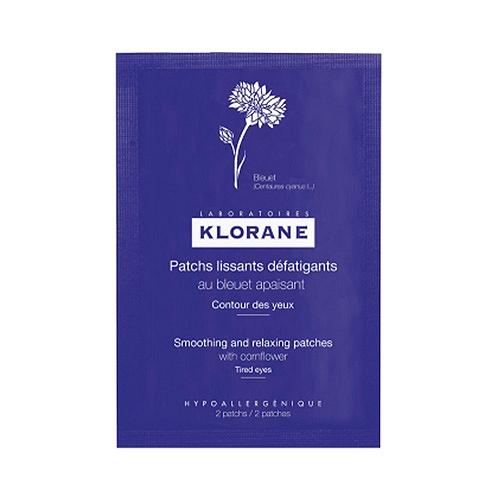 Klorane Bleuet Pétales lissants 7 pochettes de 2patch
