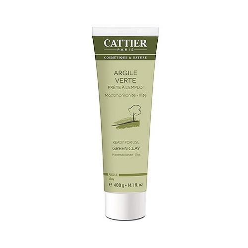 Cattier argile verte tube voyage - 400g