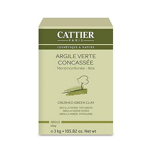Cattier argile verte concassée - 3kg