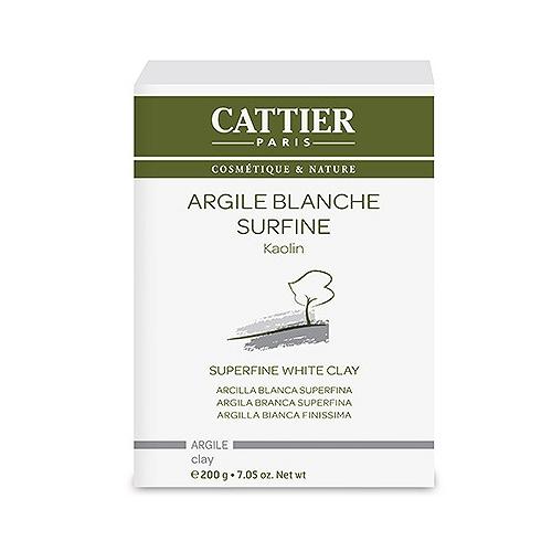 Cattier argile blanche surfine - 200g