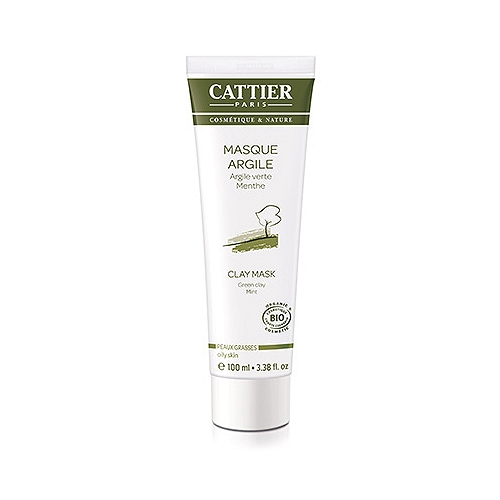 Cattier masque argile verte - 100ml
