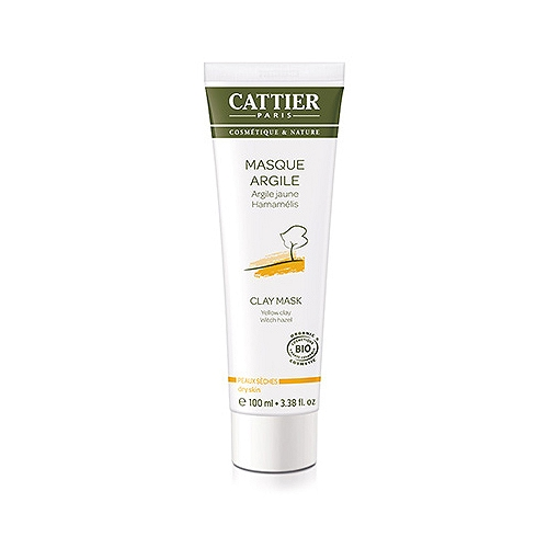 Cattier masque argile jaune - 100ml
