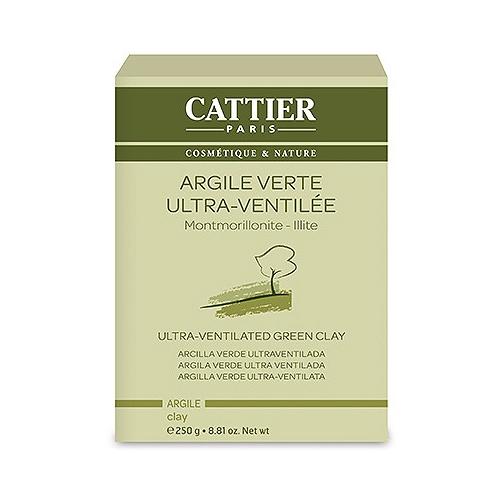 Cattier Argile Verte Ultra-Ventilée - 250g