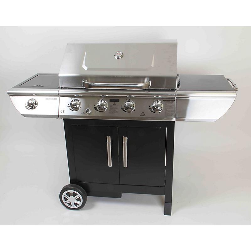 barbecue gaz arizona premium 4 br leurs maison et loisirs e leclerc. Black Bedroom Furniture Sets. Home Design Ideas