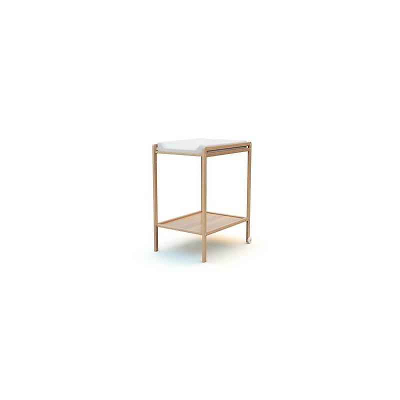 Table à langer 1 étagère Hêtre verni