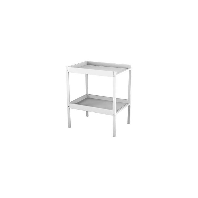 Table à langer 1 étagère Blanche