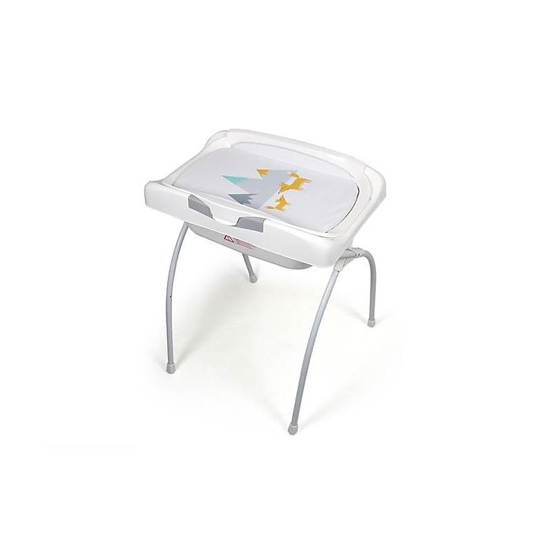 Table à langer pliante avec baignoire
