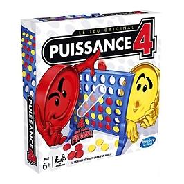 Puissance 4 - Jeu de société Puissance 4 - Jeu de stratégie - Version française. - HASBRO - A56404470