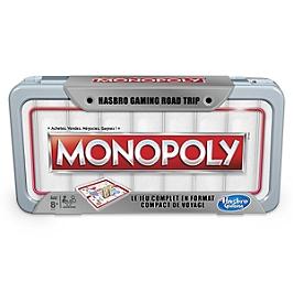 Monopoly - Jeu De Societe Road Trip - Jeu De Voyage - Monopoly - E5340101