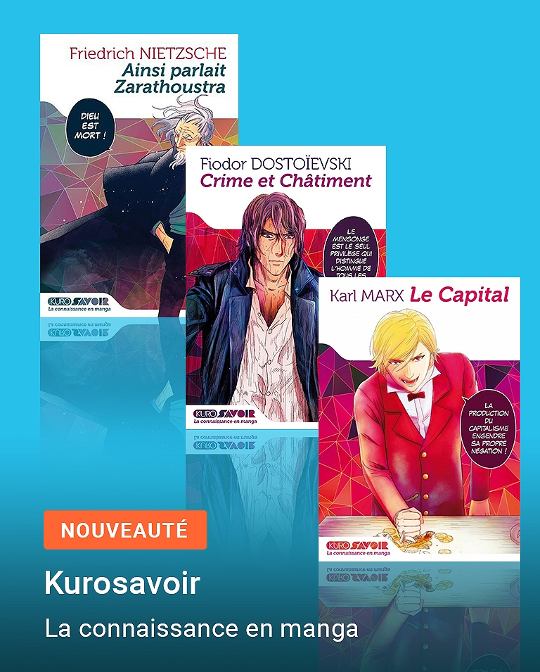 KuroSavoir, la connaissance en manga
