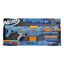 Nerf Elite 2.0 Echo Cs-10 Et Flechettes Nerf Elite Officielles - Nerf - E95332210