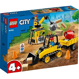 Lego® City - Le Chantier De Démolition - 60252 - 60252