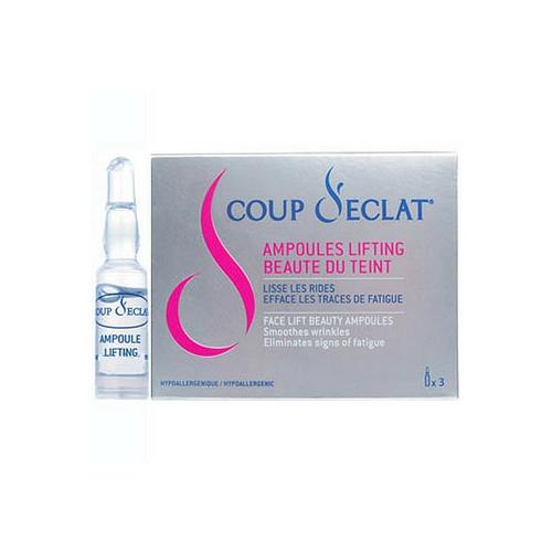 Coup d'Eclat Ampoules lifting x3