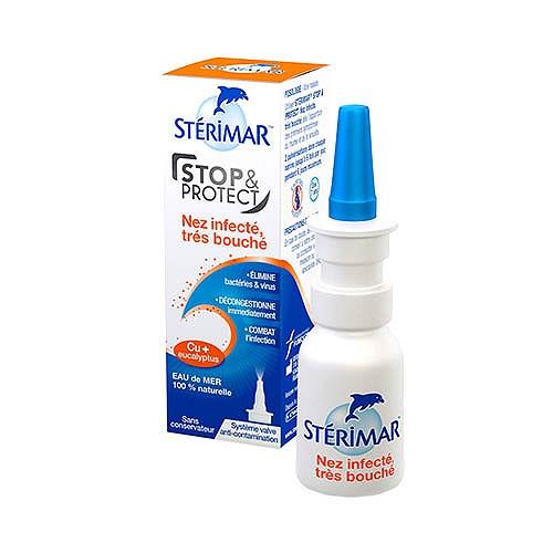 Stérimar stop & protect nez bouché  20ml