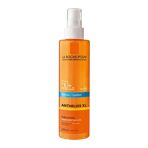 Anthelios Xl huile nutritive protection solaire SPF50+ huile 200ml