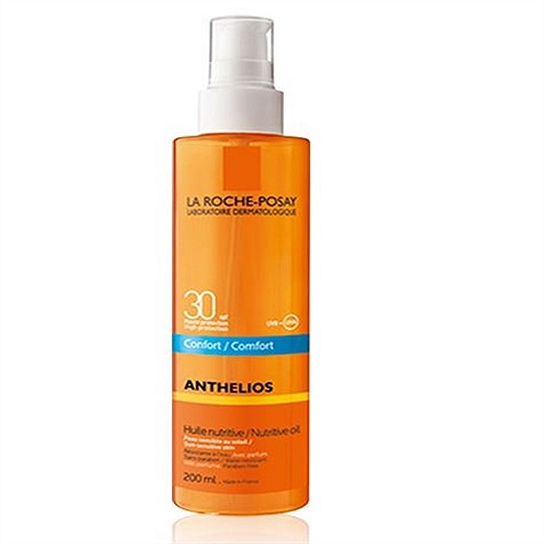 Anthelios huile nutritive protection solaire SPF30 200ml