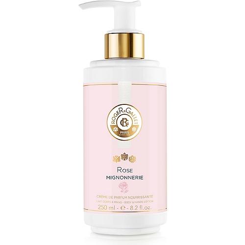 Crème de parfum nourrissante lait corps & mains 250ml - Parfum: rose