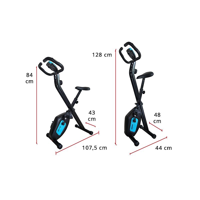 Vélo d'appartement pliable STRIALE SV-316 - CARE FITNESS
