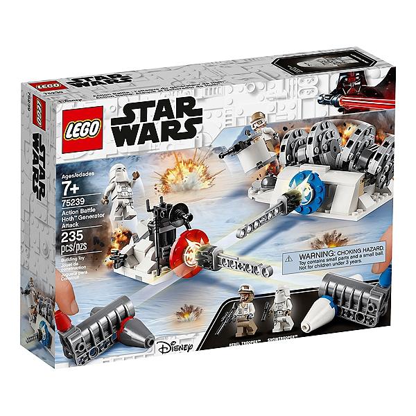 Lego Star Wars Action Battle Lattaque Du Générateur De Hoth 75239