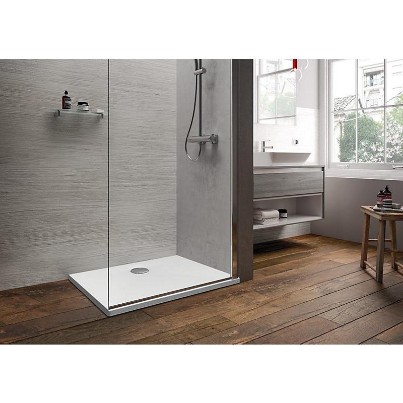 Receveur de douche en céramique extra-plat 90x70 cm IDEALSOFT