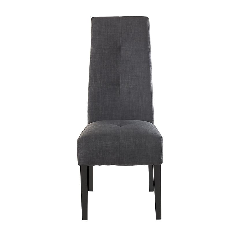 Lot de 2 chaises de salle à manger en bois