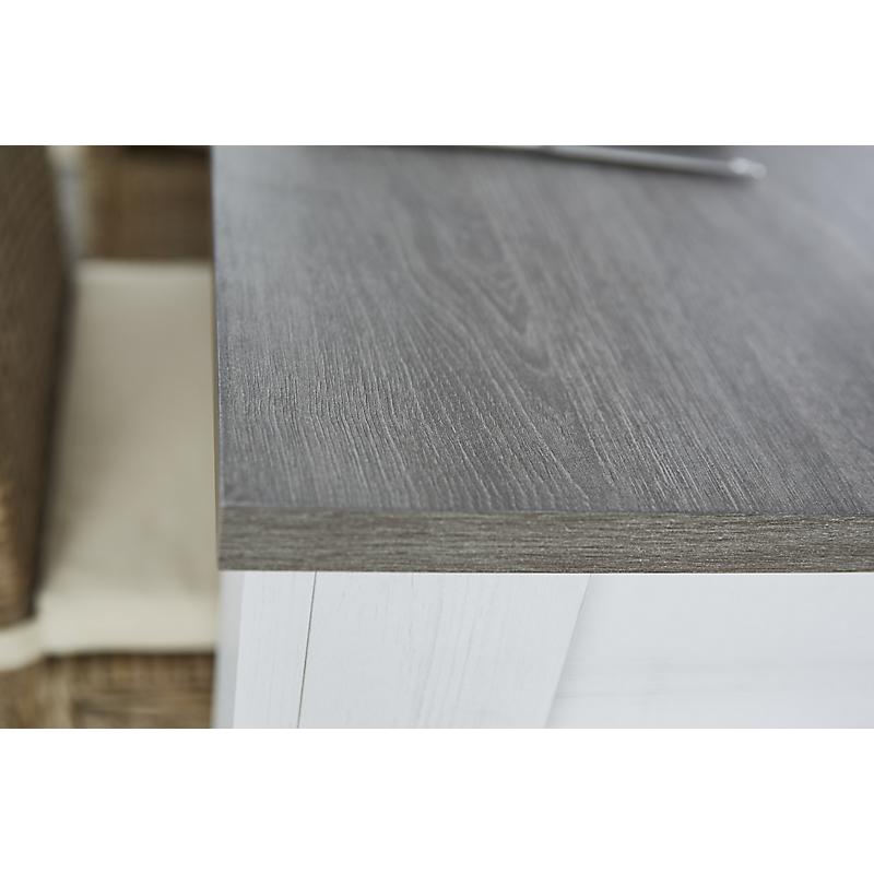 Table chêne gris clair 170 x 90 cm MARQUIS