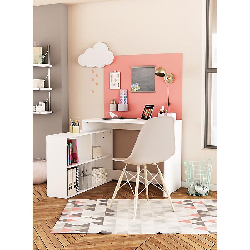 Bureau D Angle Blanc Mat Corner Maison Et Loisirs E Leclerc
