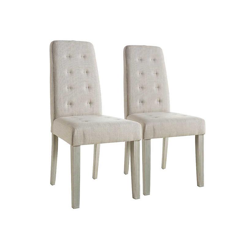 Lot de 2 chaises de Séjour Alvis Beige