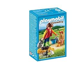 PLAYMOBIL - Soigneur Avec Chats - 6139