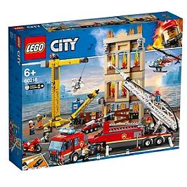 LEGO® City - Les pompiers du centre-ville - 60216 - 60216