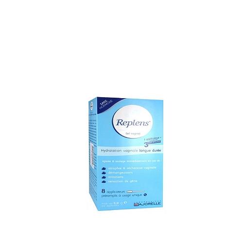 Gel vaginal hydratant et lubrifiant 8 doses