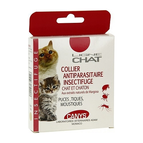 Colliers anti-parasitaires
