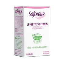 Lingettes intime ultra douces x10