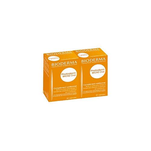 Bioderma photoderm bronz oral - 2x30 capsules