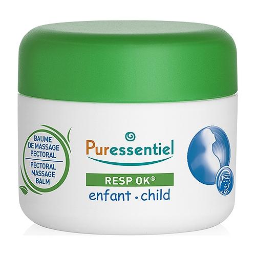 Baume de massage pectoral enfant resp'ok® - 60ml