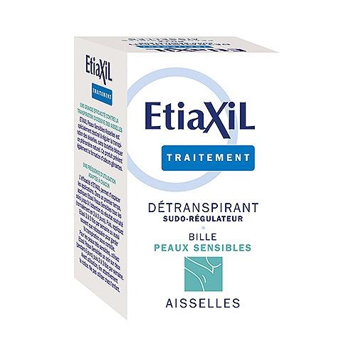 Etiaxil détranspirant bille - aisselles peaux sensibles 15ml