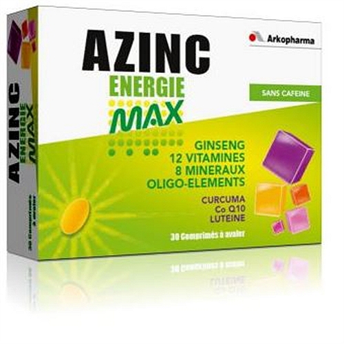 Azinc energie max x30