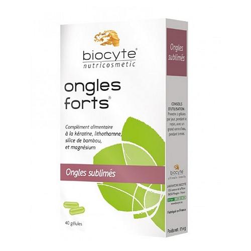 Ongles forts biocyte gel, x40