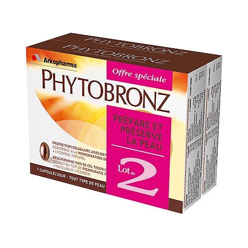 Phytobronz 30 capsules lot de 2