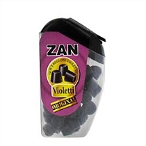 Ricqles violetti mini cones zan goût réglisse violette