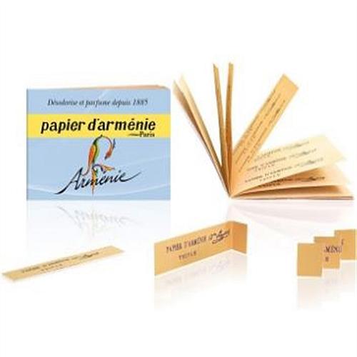 Papier D Armenie Nouvelle Fragance Carnet Papier D Armenie
