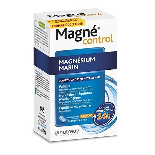Magné Control magnésium marin 60 comprimés