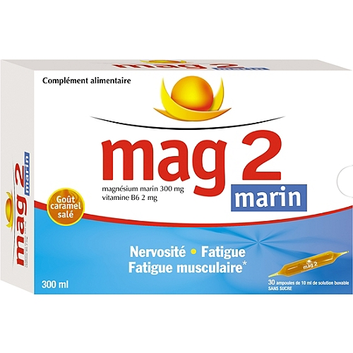 Mag2 marin 30 ampoules buvables