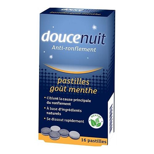 Pastille anti-ronflement double action 16 pastilles