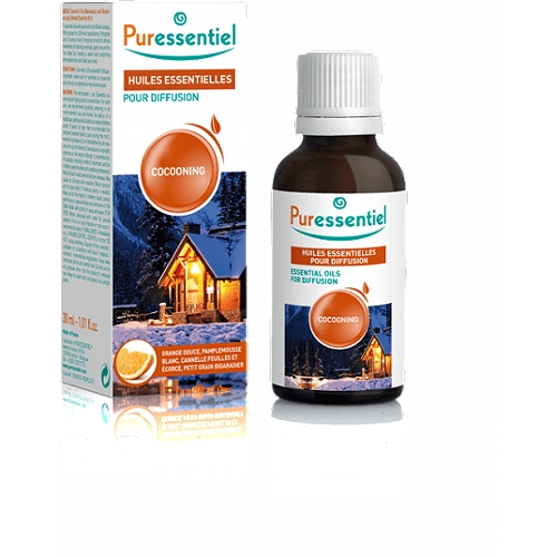 Diffuse cocooning - huiles essentielles pour diffusion - 30 ml