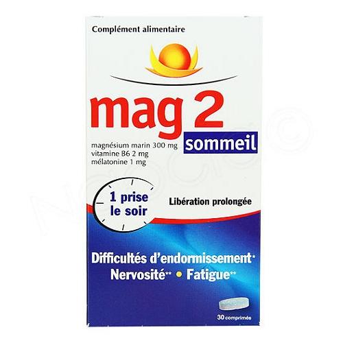 Mag 2 sommeil 30 comprimés