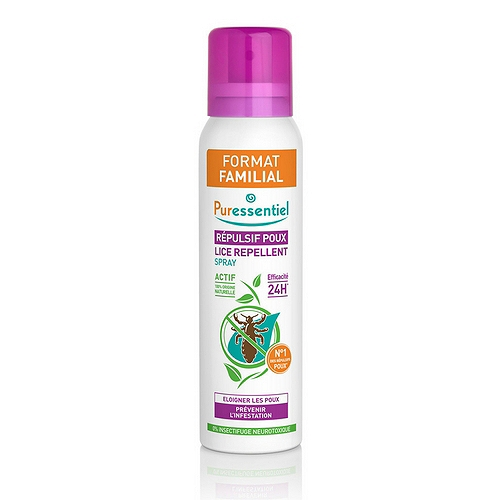Spray répulsif poux - format familial 200ml